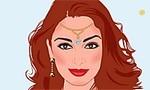 Hindu Kız Makyajı